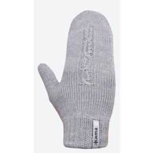 Pletené Merino rukavice Kama R105 109 svetlo sivá, Kama