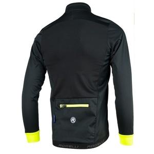 Softshellová bunda Rogelli PESARO 003.045 čierno-reflexná žltá, Rogelli