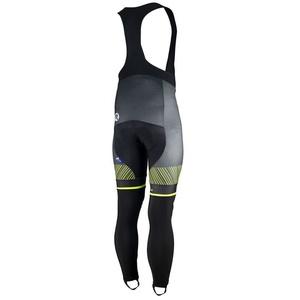 Exkluzívne cyklistické nohavice Rogelli Ritmo 002.260. čierno-reflexná žlté, Rogelli