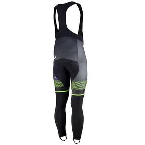 Exkluzívne cyklistické nohavice Rogelli Ritmo 002.261. čierno-zelené, Rogelli