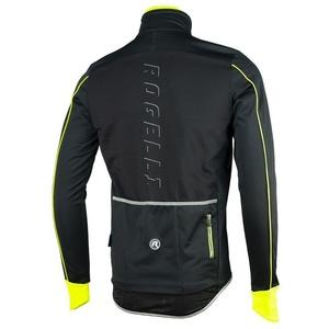 Pánska softshellová bunda Rogelli RENON 3.0., 003.037. čierno-reflexiou žltá, Rogelli