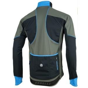 Pánska softshellová bunda Rogelli TRANI 4.0, 003.124. čierna-modrá, Rogelli