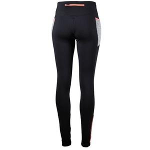 Dámske bežecké nohavice Rogelli Dynamic, 840.781. čierno-šedo-reflexná ružové, Rogelli