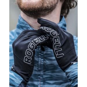 Pánske bežecké zimný rukavice Rogelli Touch, 890.001. čierne, Rogelli