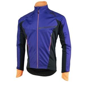 Pánska softshellová bunda Rogelli Contento, 003.141 modro-čierno-oranžová, Rogelli
