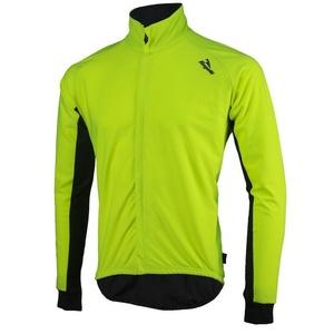 Pánsky cyklistický dres Rogelli All Seasons, 004.024. reflexná žlto-čierny, Rogelli