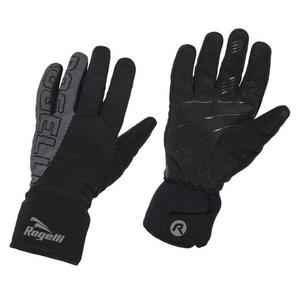 Pánske softshellové rukavice Rogelli Flash, 006.120. čierne, Rogelli