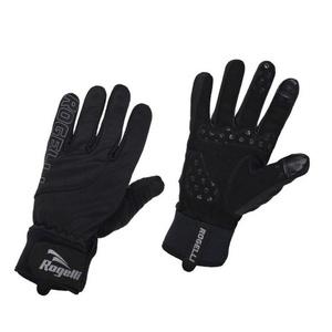 Pánske cyklistické rukavice Rogelli Storm, 006.124. čierne, Rogelli