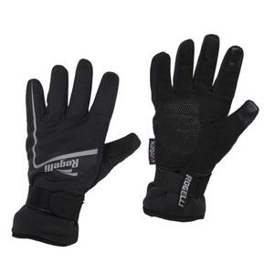 Pánske cyklistické rukavice Rogelli Shield, 006.128. čierne, Rogelli