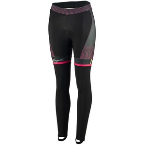 Dámske cyklistické nohavice Rogelli Bella, 010.253. čierno-ružové, Rogelli