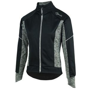 Dámska cyklistická bunda Rogelli Carlyn 2.0, 010.307. čierno-šedo, Rogelli