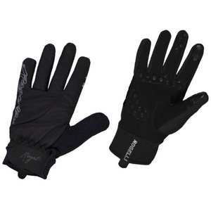 Dámske cyklistické rukavice Rogelli Storm, 010.655. čierne, Rogelli