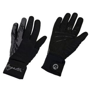Dámske cyklistické rukavice Rogelli Flash, 010.660. čierne, Rogelli