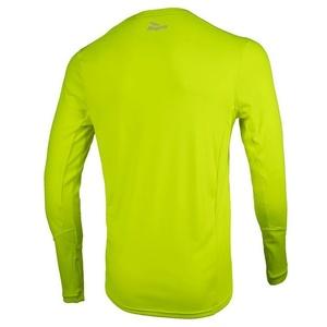 Športové funkčnou triko Rogelli BASIC s dlhým rukávom, 800.260. reflexná žltá, Rogelli