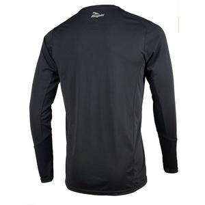 Športové funkčnou triko Rogelli BASIC s dlhým rukávom, 800.261. čierne, Rogelli