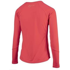 Dámske športové funkčnou triko Rogelli BASIC s dlhým rukávom, 801.255. ružové, Rogelli