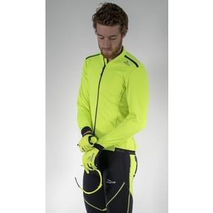 Softshellová bunda Rogelli PESARO 2.0, 003.046. reflexná žltá, Rogelli