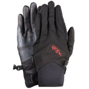 Rukavice Rab M14 glove black / bl, Rab