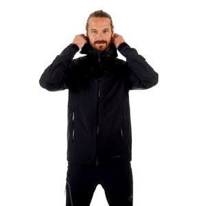 Pánska bunda Mammut Convey Tour HS Hooded, black, Mammut