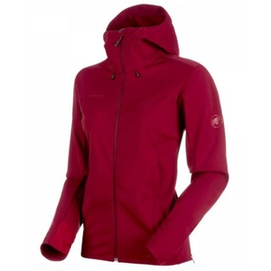 Dámska bunda Mammut Ultimate V SO Hooded, 3496 beet-beet melange, Mammut