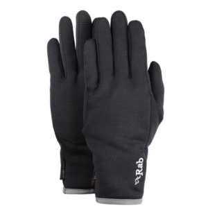 Rukavice Rab Powerstretch Pro Contact Glove black / bl, Rab
