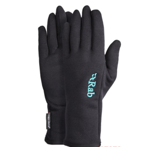 Rukavice Rab Powerstretch Pro Glove Women's black / bl, Rab