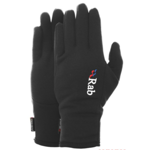 Rukavice Rab Powerstretch Pro Glove black / bl, Rab