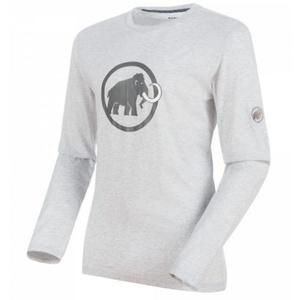 Pánske triko Mammut Mammut Logo Longsleeve Men (1041-07081), 00106 marble melange, Mammut