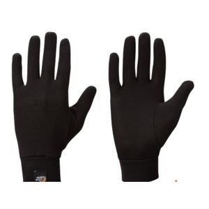 Rukavice Lowe Alpine Silkwarm Glove black / bl, Lowe alpine