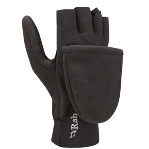 Rukavice Rab Windbloc Convertible Mitt black / bl, Rab