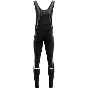 Pánske elastické zimný nohavice Silvini RUBENZA MP1317 black, Silvini