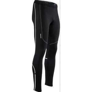 Pánske elastické zateplené nohavice Silvini RUBENZA MP1313 black, Silvini