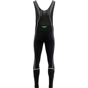 Pánske elastické zimný nohavice Silvini RUBENZA MP1321 black green, Silvini