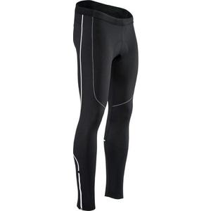 Pánske elastické zateplené nohavice Silvini RUBENZA MP1319 black, Silvini