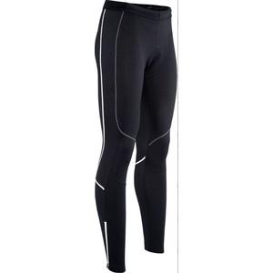 Pánske elastické zateplené nohavice Silvini RUBENZA MP1319 black white, Silvini