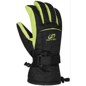 Rukavice HANNAH Brion anthracite / lime punch, Hannah
