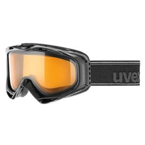 Lyžiarske okuliare UVEX G.GL 300, black double lens / lasergold lite (2029), Uvex