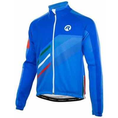 Membránová cyklistická bunda Rogelli TEAM 2.0, modrá 003.962, Rogelli