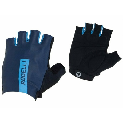 Cyklistické rukavice Rogelli PACE, modré 006.381, Rogelli