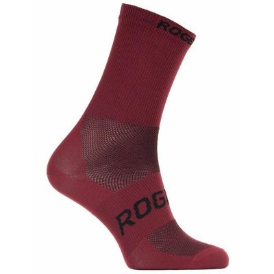 Antibakteriálny ponožky Rogelli SUNSHINE 08 s miernu kompresiou, vínovej 007.143, Rogelli