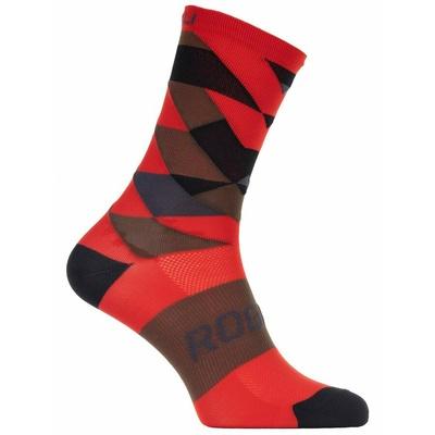 Dizajnové funkčnou ponožky Rogelli SCALE 14, červené 007.153, Rogelli