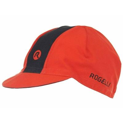Cyklistická šiltovka pod helmu Rogelli RETRO, červeno-čierna 009.969, Rogelli