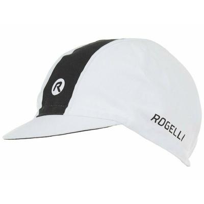 Cyklistická šiltovka pod helmu Rogelli RETRO, bielo-čierna 009.970, Rogelli
