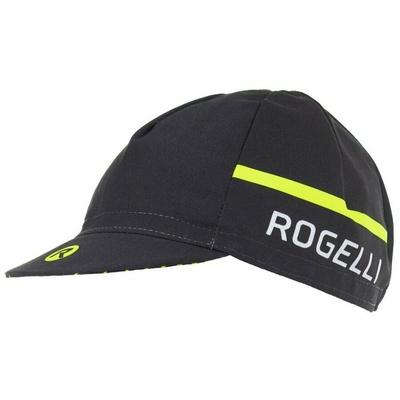 Cyklistická šiltovka pod prilbu Rogelli HERO, čierno-reflexne žltá 009.971, Rogelli
