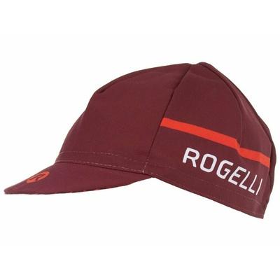 Cyklistická šiltovka pod prilbu Rogelli HERO, vínovo-červená 009.973