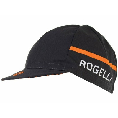 Cyklistická šiltovka pod helmu Rogelli HERO, čierno-oranžová 009.974