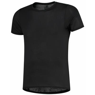 extrémne funkčnou športové tričko Rogelli KITE s krátkym rukávom, čierne 070.015, Rogelli