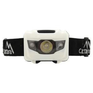 čelovka Compass LED 80lm čierna-biela, Cattara