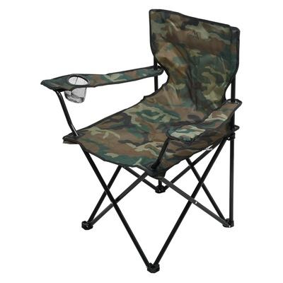 stolička kempingový skladacia Cattara LIPARI ARMY, Cattara