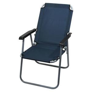 stolička kempingový skladacia Cattara LYON tmavo modrá, Cattara